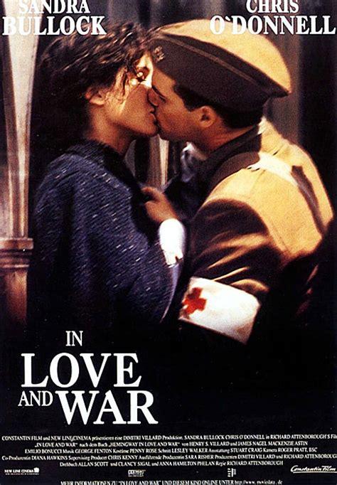 film love war filmplakat in love and war 1996 filmposter archiv