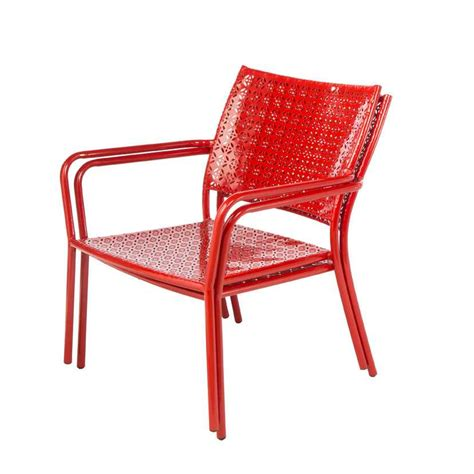 alfresco home martini low profile lounge chairs in cherry