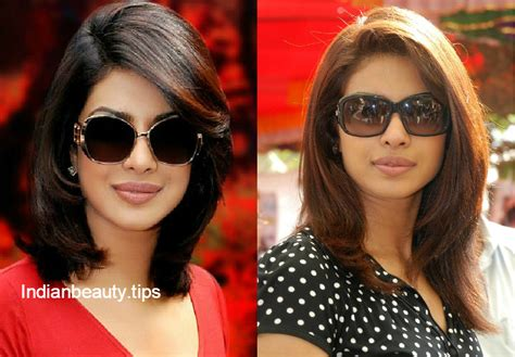 priyanka chopra hairstyle in anjana anjani movie trendy hairstyles for short hair indian beauty tips