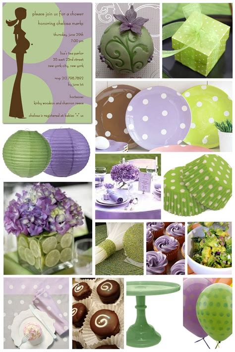 Purple And Green Baby Shower by Purple And Green Baby Shower Centerpieces 1 Wall Decal