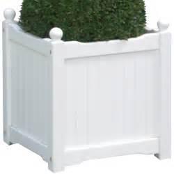 wooden planter box white small choosy