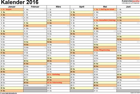 Wochen Kalender 2016 Kalender 2016 In Word Zum Ausdrucken 16 Kostenlose Vorlagen