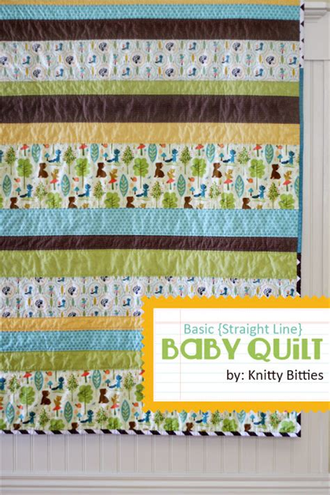 Basic Baby Quilt by Basic Baby Quilt Tutorial