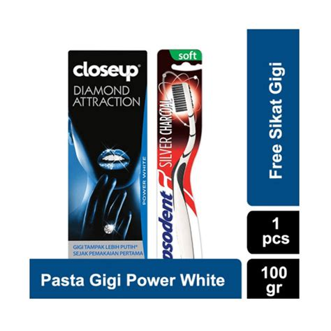 Pasta Gigi Dan Sikat Gigi Pepsodent jual up pasta gigi attraction power white