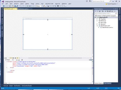grid layout in xaml programmer s ranch c wpf basic login form using a grid