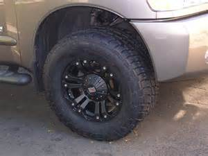 Tires And Rims Nissan Titan 18 Black Xd Xd 778 Wheels And Nitto Terra