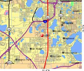 Zip Code Map Orlando Fl by Zip Code Map Orlando Aphisvirtualmeet
