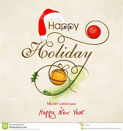 new year invitation greeting cards happy holidays merry season greetings merry