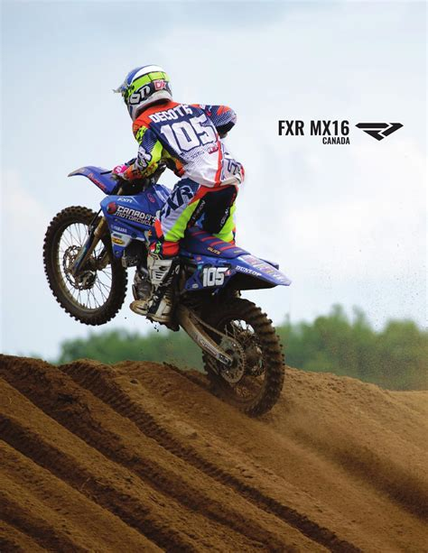 canada motocross gear mx 2016 fxr booking catalog canada by fxr racing issuu