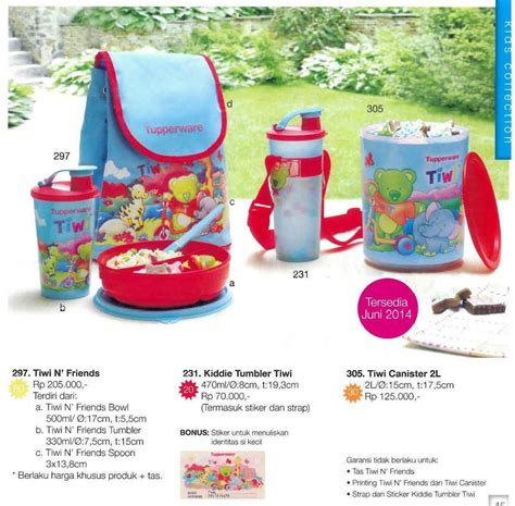 Tupperware Satu Paket buy tupperware tiwi n friends deals for only rp174 000