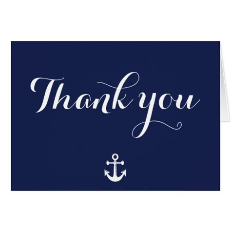 Can You Use Old Navy Gift Cards At Gap - navy blue nautical wedding thank you cards zazzle