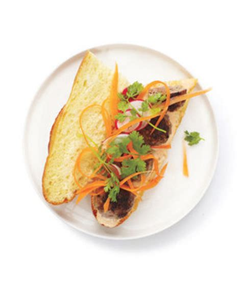 Simple Search Michigan Meatball Banh Mi Recipe Real Simple