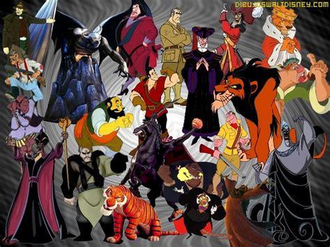 mundo de villanos personajes villanos disney