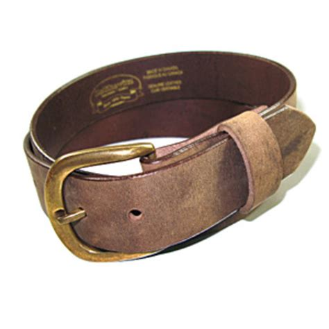 zelikovitz mens genuine solid buffalo leather belt