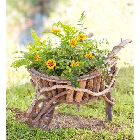 Large Wooden Wheelbarrow Planter by 25 Best Ideas About Wooden Wheelbarrow On Wheelbarrow Wheels Rustic Planter