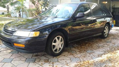 rare 1994 honda accord wagon ex factory 5 speed manual moonroof vtec classic honda accord