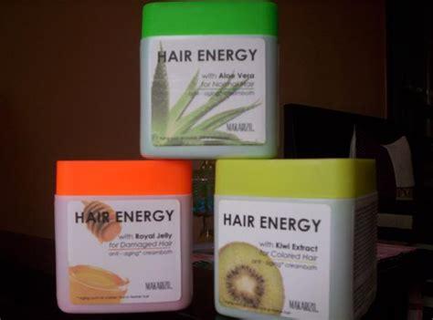 Sho Makarizo Hair Energy canciondelvagabundo cara merawat rambut rusak dan kering dengan krim creambath