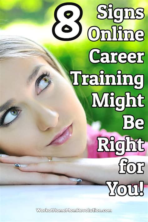 Certified Online Jobs Work From Home - online career training 8 signs it might be right for you work at home mom revolution
