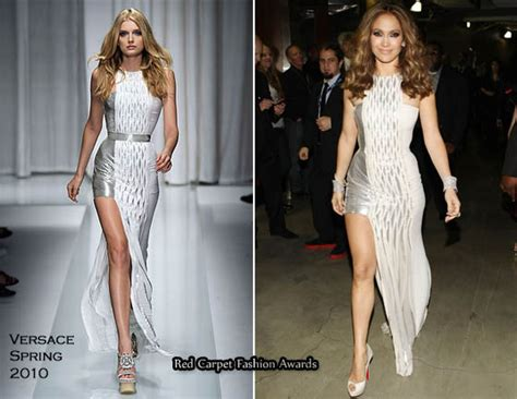 Catwalk To Carpet Grammy Awards by Runway To 2010 Grammy Awards In Versace