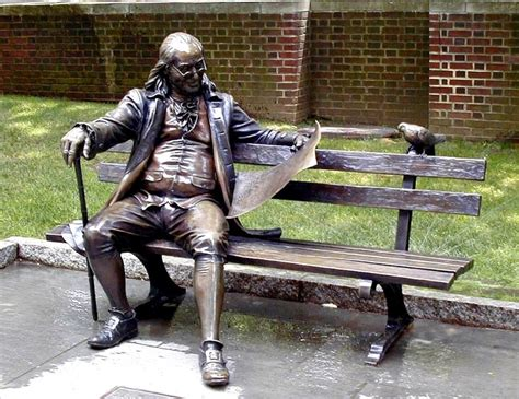 sculpture bench benjamin franklin bench at the university of pennsylvania
