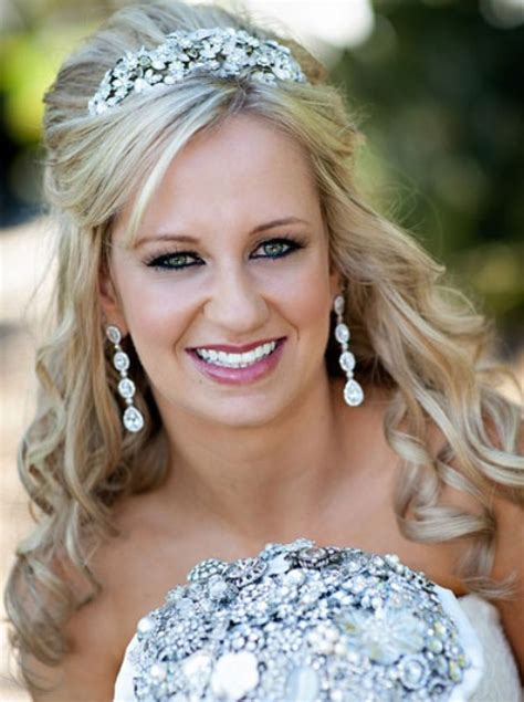 Wedding Hairstyles Hair Part Up Part by Wedding Hair Part Up Part Wedding Hairstyles Pretty