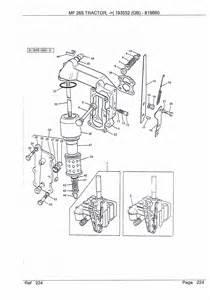 massey ferguson 200 series parts my parts manuals