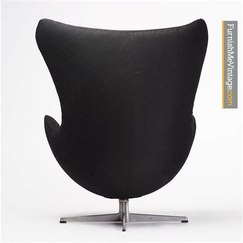 Arne Jacobsen Egg Chair Original by Black Arne Jacobsen Egg Chair
