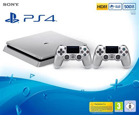 playstation  slim gb console silver limited edition