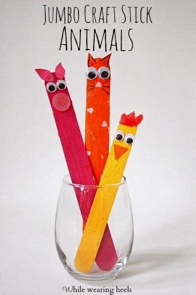 jumbo craft sticks projects 17 best images about farm ideas materials worksheets on