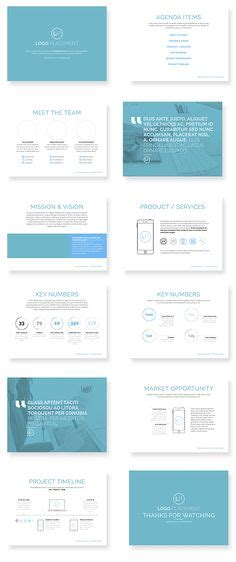 powerpoint template by design district via behance universal pitch deck two powerpoint template by pitchstock