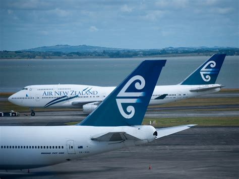 air new zealand air new zealand pacific koru 747s airlines