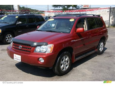 red toyota toyota highlander price modifications pictures moibibiki