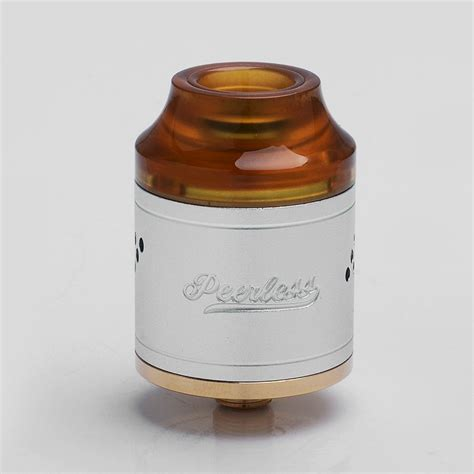 Rda Peerless Authentic By Geekvape Atomizer Vape Vaping Vapor peerless rda silver vapehouse