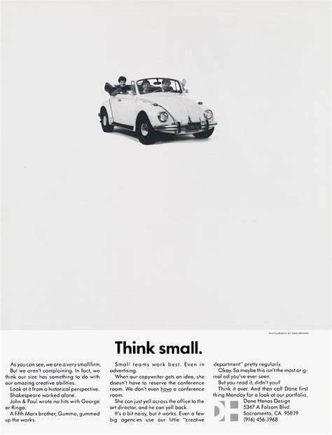 volkswagen think small think small ad caign google search think small vw