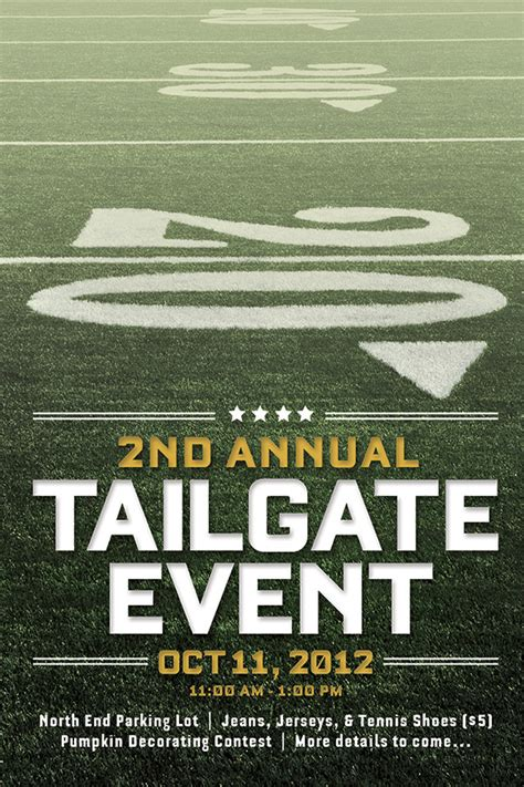 1000 Images About Cbpmaa Marketing On Pinterest Free Tailgate Flyer Template