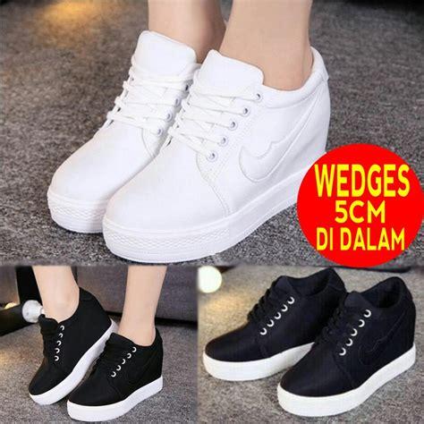 Sepatu Wanita Sneakers Wedges sneakers wedges cewek korea sepatu sneaker wanita casual