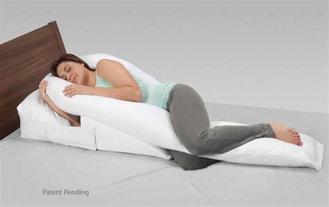 bed wedge pillow for acid reflux wedgepillowmedclinecompleterefluxreliefsystem jpg
