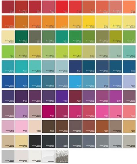 order any color plus color chart oh that color