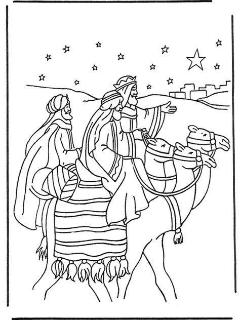 free coloring pages of nativity shepherds