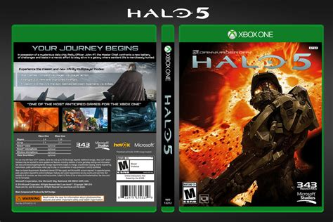 fan made halo game halo 5 fan made complete box art by danyvaderday on