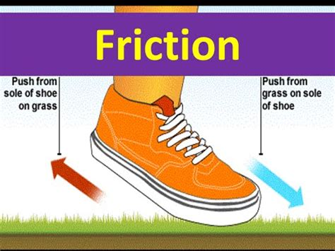 friction lesson for kids physics youtube