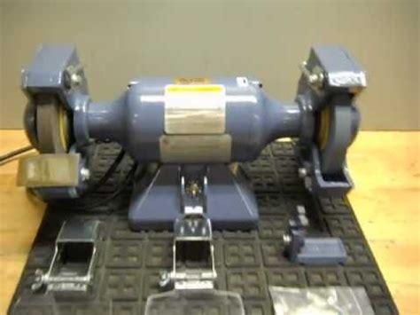 baldor bench grinder for sale testing a baldor 623e bench grinder youtube