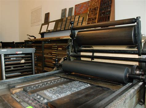Style It In The Press by Industrial Revolution And The Printing Press Paula Schmill