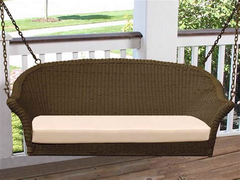 antique wicker porch swing outdoor wicker porch swing for outdoor decoration front