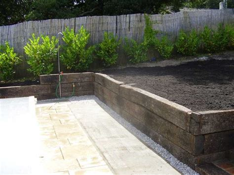 Design My Patio by Chris Gaebler S French Project With Railway Sleepers
