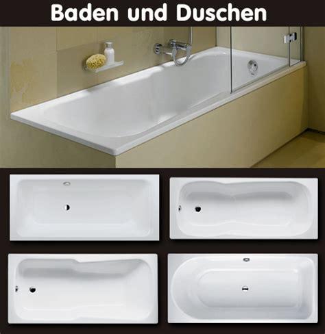 Badewannen Zum Duschen by Badewanne Zum Baden Und Duschen Mit Dem Platzbedarf Einer