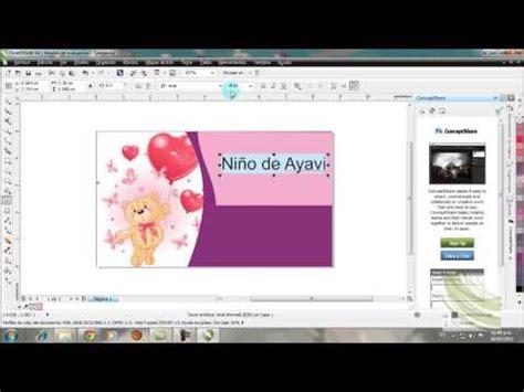 tutorial de como aser una invitacion en coreldraw wmv doovi tutorial de como aser una invitacion en coreldraw wmv doovi