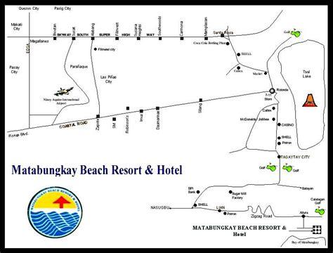 matabungkay resort map matabungkay resort batangas reservation service