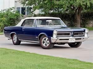 1965 Pontiac Lemans Gto 1965 Pontiac Tempest Lemans Gto Convertible Classic