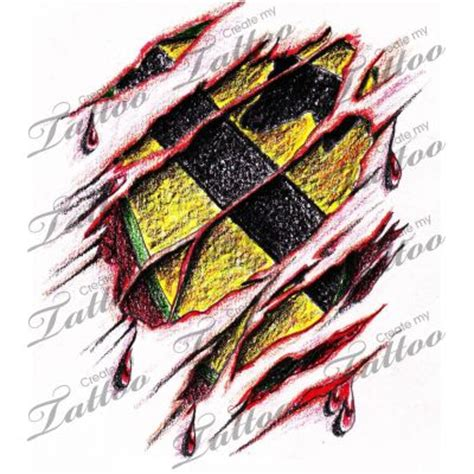 cavalry tattoo marketplace 1st cavalry patch and ripped skin 4848